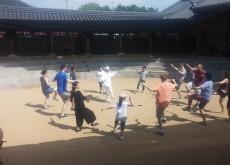 한국 방송통신대학 탈춤따라배우기